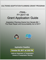 Caltrans Grant Application Guide: California SB 1 - Adaptation Planning grants