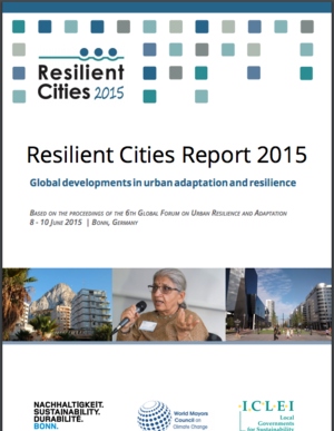 Resilient Cities Summary Report  - Global developments in urban adaptation and resilience