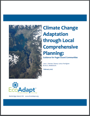 Climate Change Adaptation through Local Comprehensive Planning: Guidance for Puget Sound Communities
