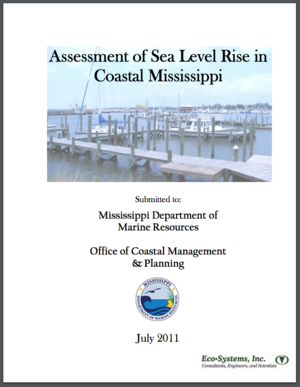 Assessment of Sea Level Rise in Coastal Mississippi