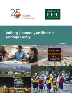 Building Community Resilience in Maricopa County, Arizona