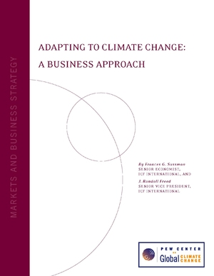 Adapting to Climate Change: A Business Approach