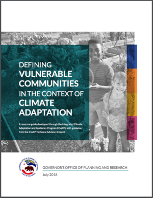 Defining Vulnerable Communities in the Context of Climate Adaptation