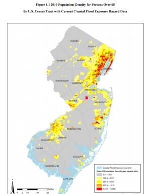 Coastal Flood Risk and Climate Change Implications for New Jersey's Senior Citizens