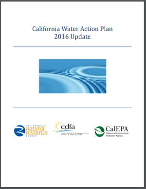 California Water Action Plan - 2016 Update
