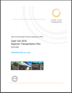 Cape Cod Commission's Adaptation Planning Activities for the Regional Transportation System