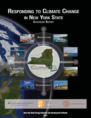 Responding to Climate Change in New York State: ClimAID Integrated Assessment for Effective Climate Change Adaptation - Synthesis Report