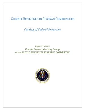 Climate Resilience in Alaskan Communities: Catalog of Federal Programs