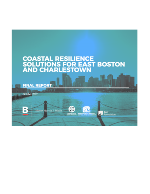 Coast Resilience Solutions for East Boston and Charlestown, Massachusetts