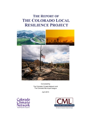 The Report of the Colorado Local Resilience Project