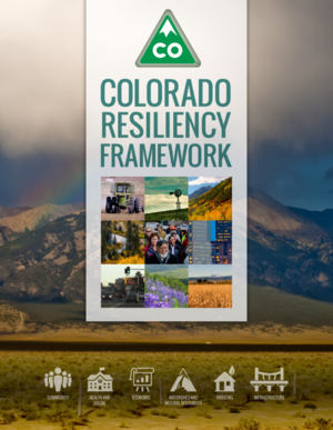 Colorado Resiliency Framework
