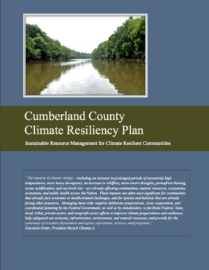 Cumberland County, North Carolina, Climate Resiliency Plan