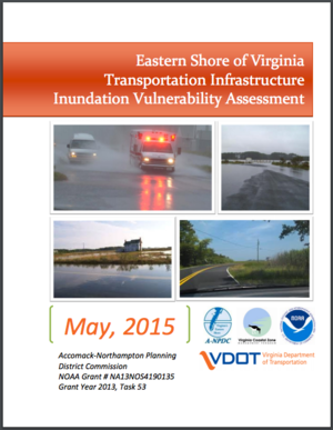Eastern Shore of Virginia Transportation Infrastructure Inundation Vulnerability Assessment