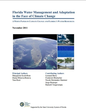 Florida Water Management and Adaptation in the Face of Climate Change