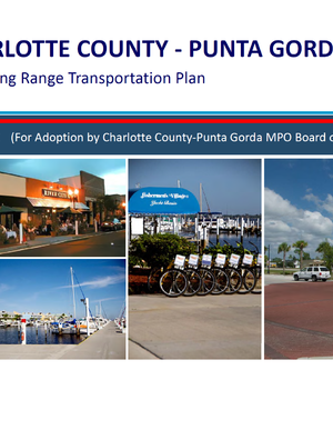 Charlotte County-Punta Gorda 2035 Long Range Transportation Plan