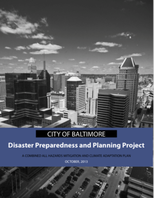 Transportation Elements of the City of Baltimore Disaster Preparedness and Planning Project (DP3)