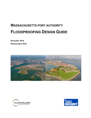 Massachusetts Port Authority Resiliency Program and Floodproofing Design Guide