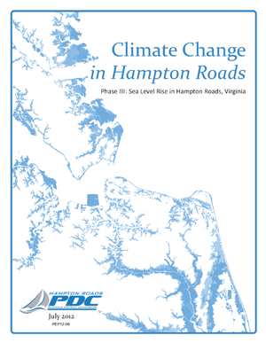 Hampton Roads Climate Change Adaptation Project