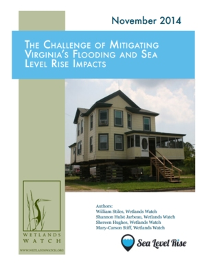 The Challenge of Mitigating Virginia's Flooding and Sea Level Rise Impacts