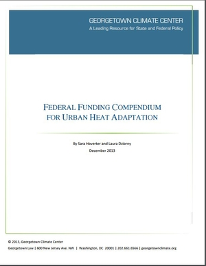 Federal Funding Compendium for Urban Heat Adaptation