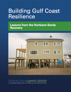 Building Gulf Coast Resilience - Lessons from the Hurricane Sandy Recovery