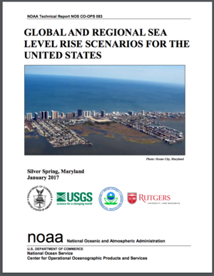 Global and Regional Sea Level Rise Scenarios for the United States