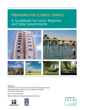 Preparing for Climate Change: A Guidebook for Local, Regional, and State Governments