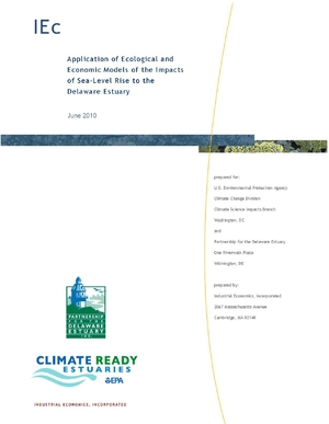 Application of Ecological and Economic Models of the Impacts of Sea-Level Rise to the Delaware Estuary