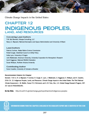 National Climate Assessment: Indigenous Peoples, Lands, and Resources