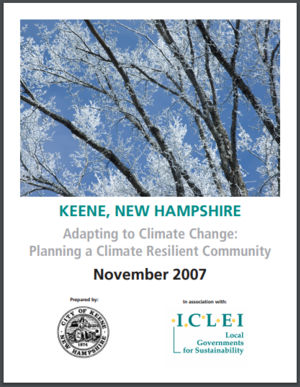 The City of Keene, New Hampshire's Adaptation Planning Activities – Transportation Elements