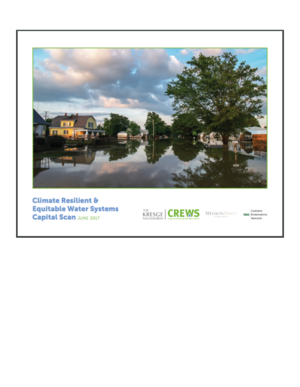 Climate Resilient and Equitable Water Systems Capital Scan