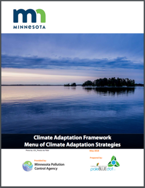 Minnesota Climate Adaptation Framework and Menu of Climate Adaptation Strategies