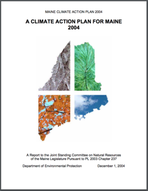 A Climate Action Plan for Maine 2004