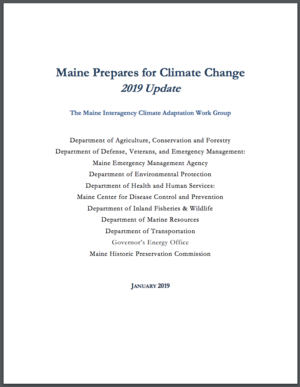 Maine Prepares for Climate Change: 2019 Update