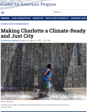 Making Charlotte a Climate-Ready and Just City