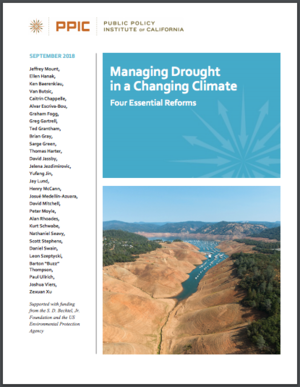 Managing Drought in a Changing Climate: Four Essential Reforms