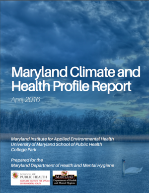 Maryland Climate and Health Profile