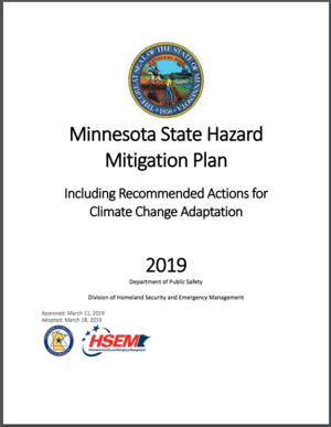 Minnesota State Hazard Mitigation Plan 2019 - Including Recommended Actions for Climate Change Adaptation