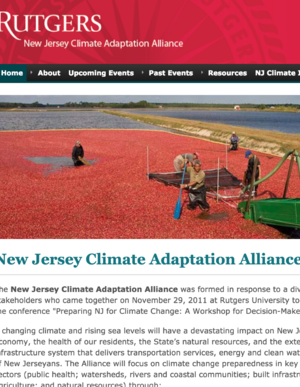 New Jersey Climate Adaptation Directory