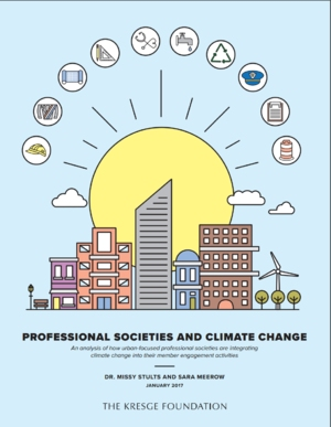 Professional Societies and Climate Change