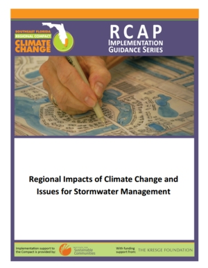 Regional Impacts of Climate Change and Issues for Stormwater Management