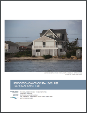 Rhode Island Socioeconomics of Sea Level Rise