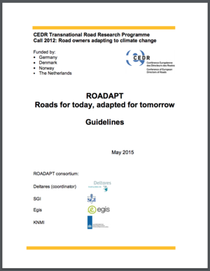 European Road Authorities' Climate Risk Assessment Tools: RIMAROCC and ROADAPT Projects