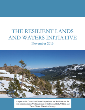 The Resilient Lands and Waters Initiative Final Report