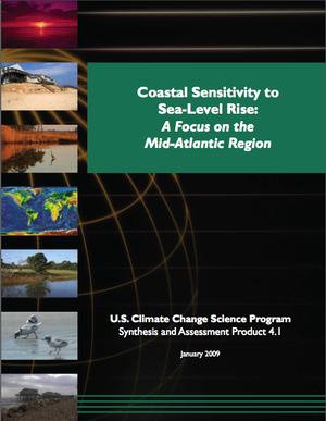 Synthesis and Assessment Product (SAP) 4.1: Coastal Sensitivity to Sea-Level Rise: A Focus on the Mid-Atlantic Region