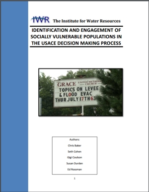 Identification and Engagement of Socially Vulnerable Populations in the USACE Decision Making Process