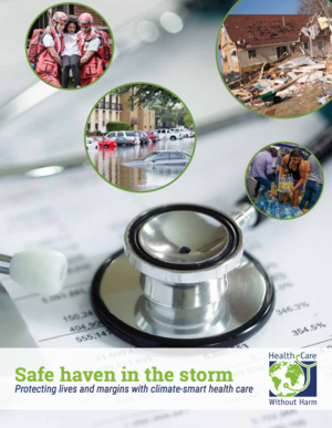 Safe haven in the storm: Protecting lives and margins with climate-smart health care