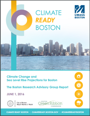 Climate Ready Boston - Climate Change Sea Level Rise Projections for Boston