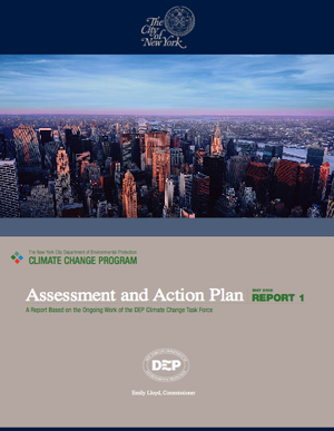 City of New York Climate Change Assessment and Action Plan (NYC Department of Environmental Protection)