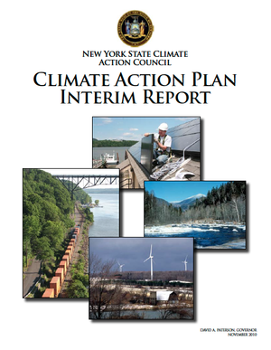 New York State Climate Action Plan Interim Report